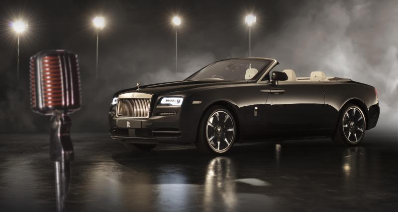 Quand la Rolls-Royce Dawn se prend pour une star du jazz