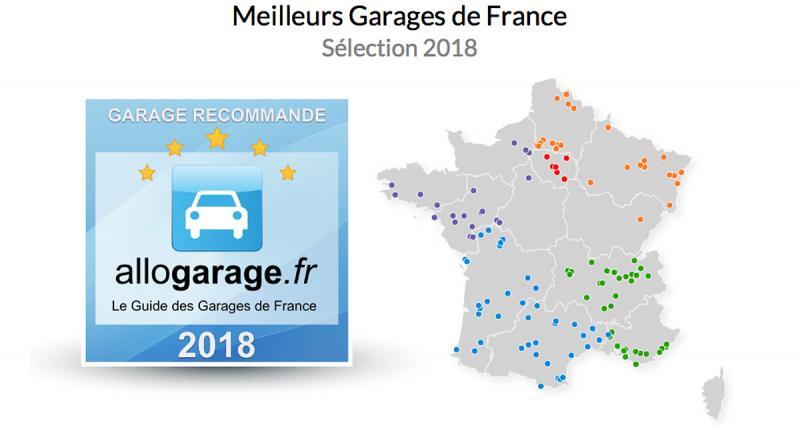Quels sont les meilleurs garages de France?