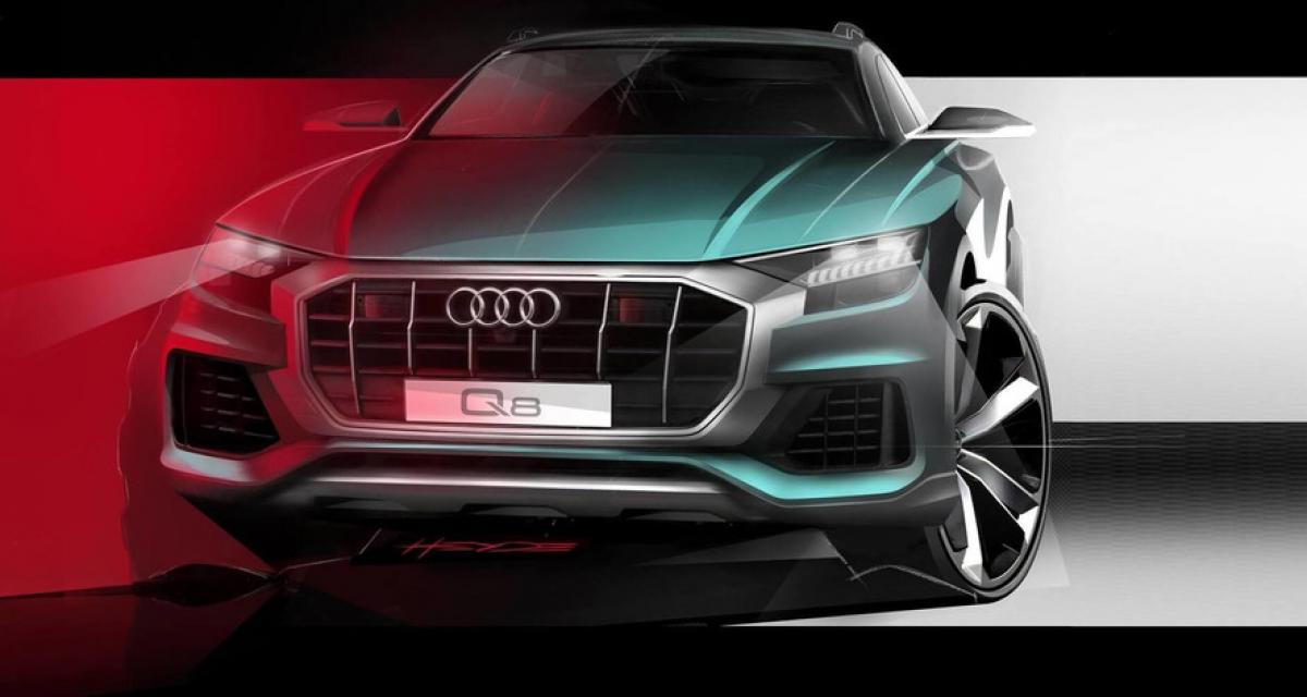 Audi Q8 : et maintenant, la face avant