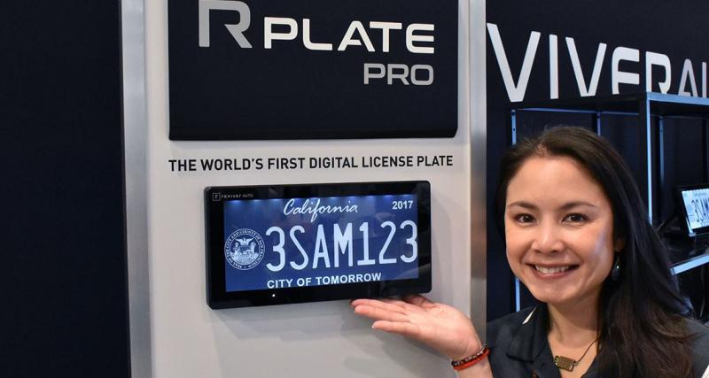 La Californie teste les plaques d'immatriculation digitales