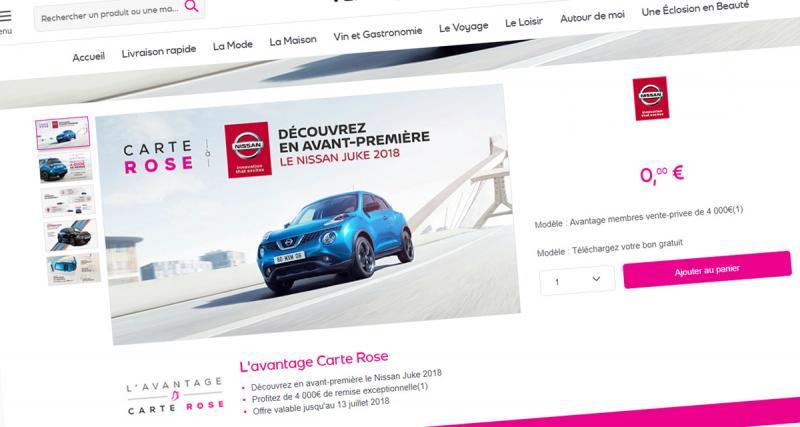 4 000 euros de réduction sur le Nissan Juke via Vente Privée