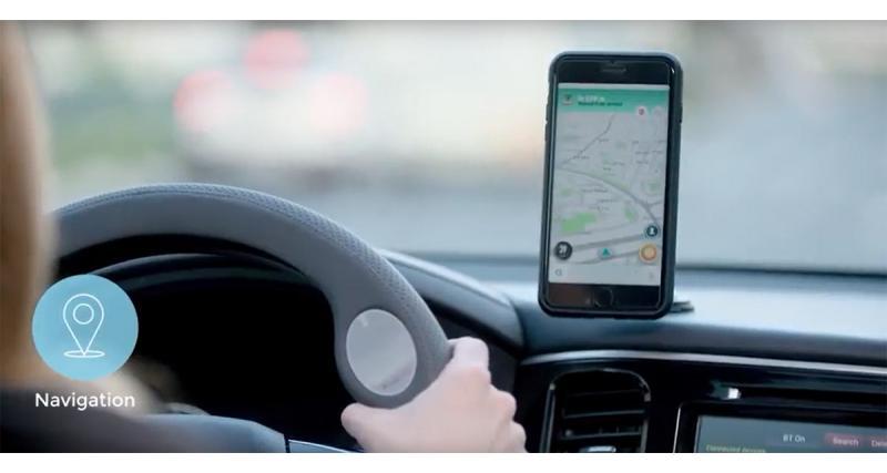 Contrôlez votre Smartphone sans lâcher le volant avec le JustDrive de Radiomize
