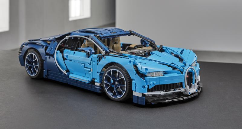 Lego Technic : la Bugatti Chiron est disponible, et elle est chère !