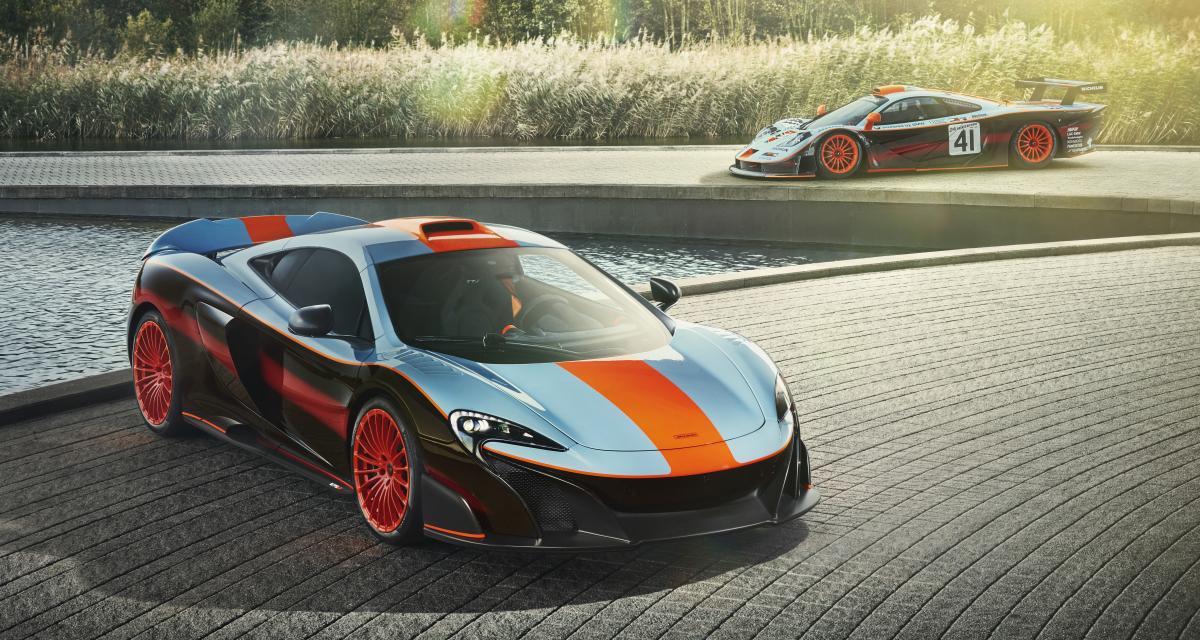 McLaren 675LT Gulf Racing par MSO: hommage à un âge d'or de la compétition