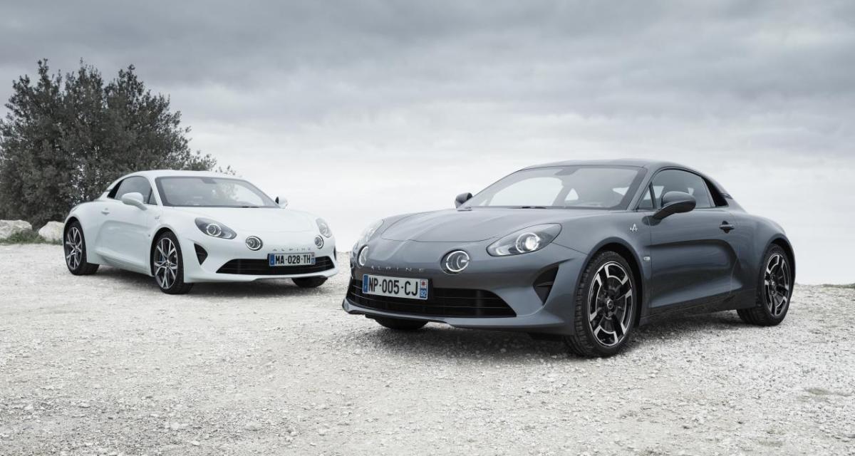 Alpine A110 : les prix des versions Pure et Légende confirmés