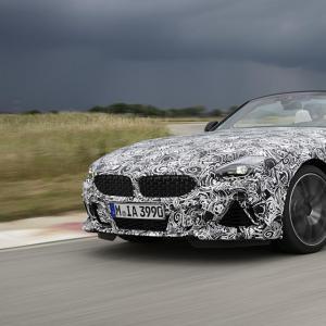 BMW Z4 2018 : le prototype photographié en France