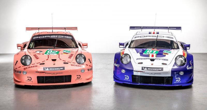 24 Heures du Mans : deux Porsche complètement rétro au départ