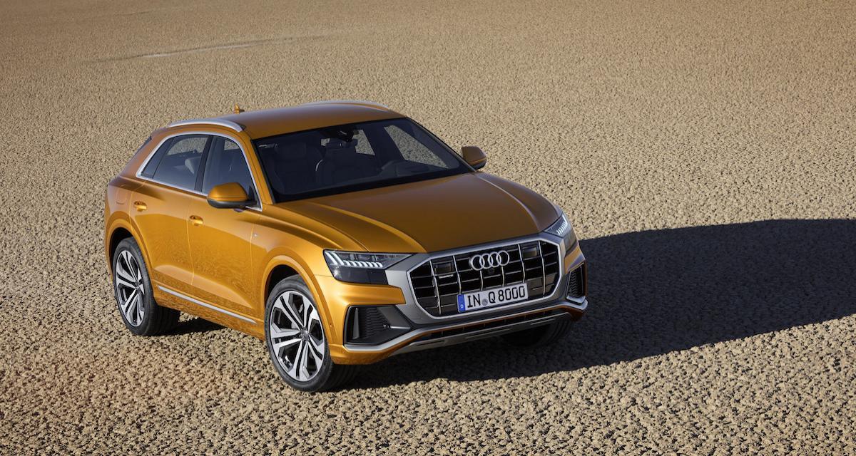 Audi Q8 : suivez la présentation en direct