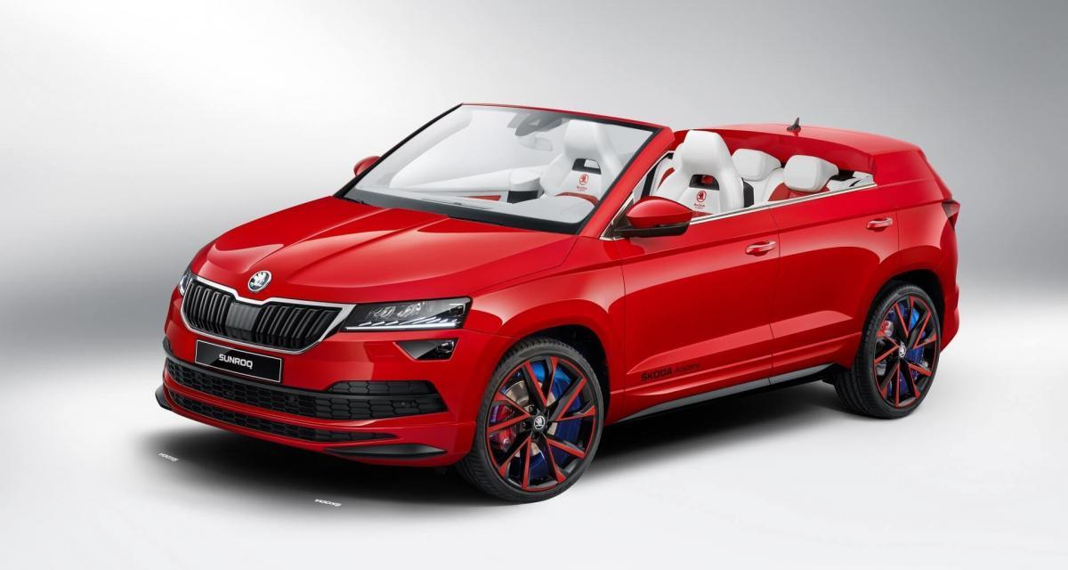 Skoda Sunroq : et si le tchèque osait le SUV cabriolet ?