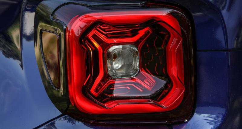 Jeep Renegade restylé : jusqu'à 180 ch