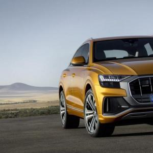 Audi Q8 : les photos officielles du SUV coupé