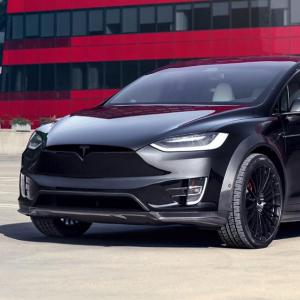 Tesla Model X T Largo : une version large en série limitée