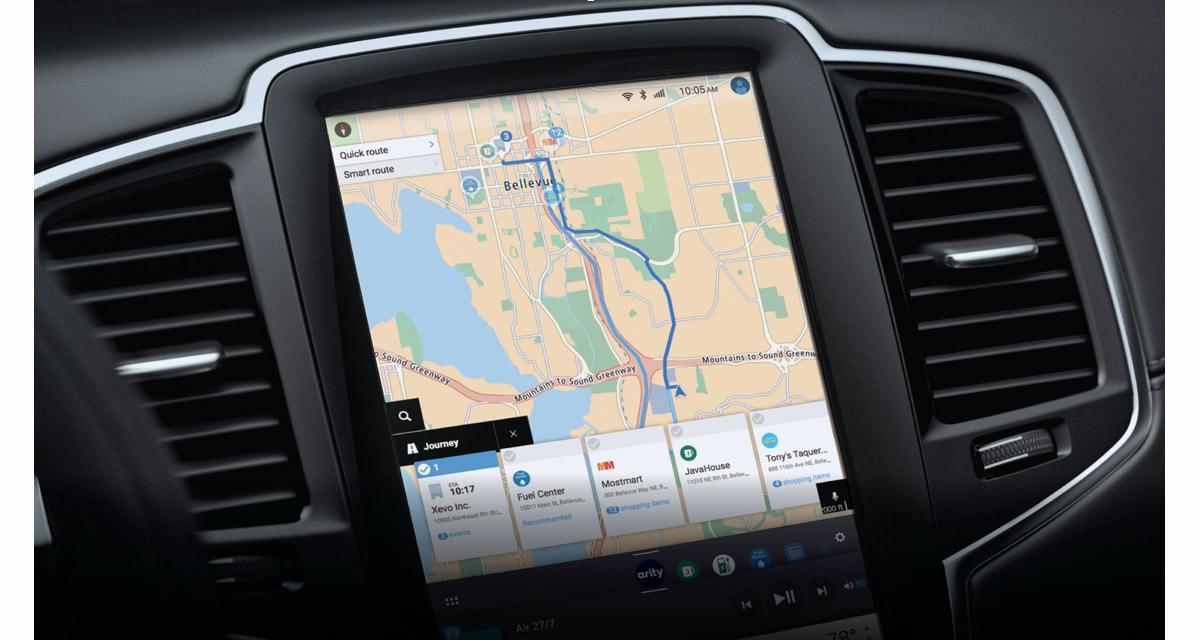Tomtom et Xevo proposent une solution de navigation personnalisée avec guidage sur les commerces