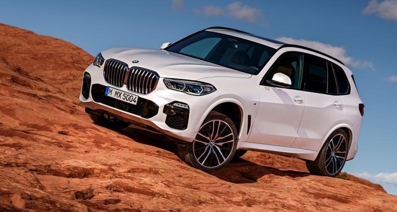 Nouveau BMW X5 : davantage de place au franchissement