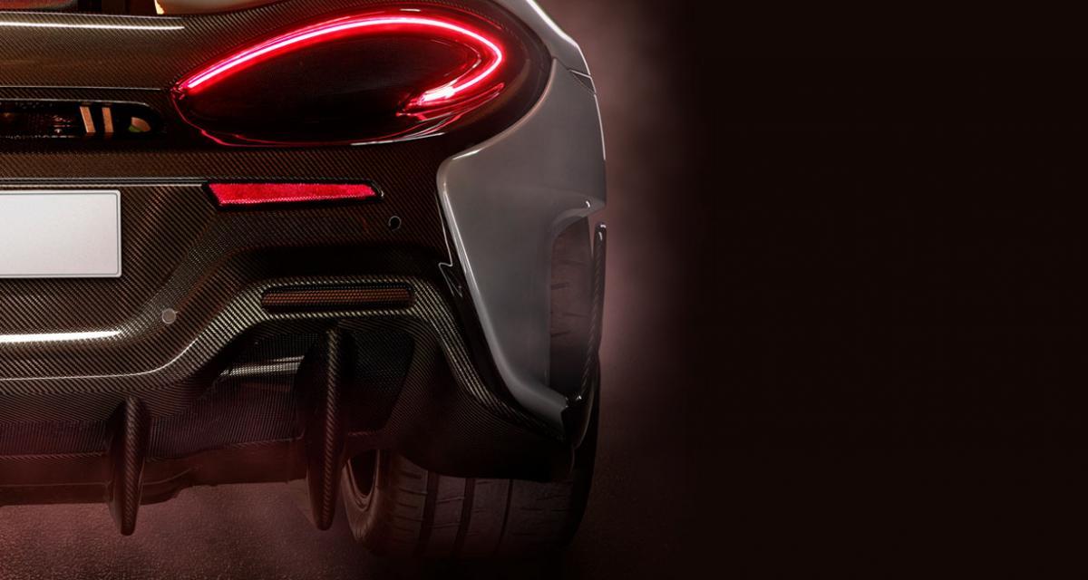Une version radicale de la McLaren 570S en approche