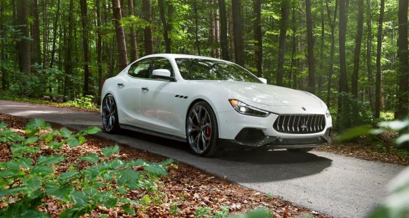 La Maserati Ghibli S survitaminée grâce à Novitec