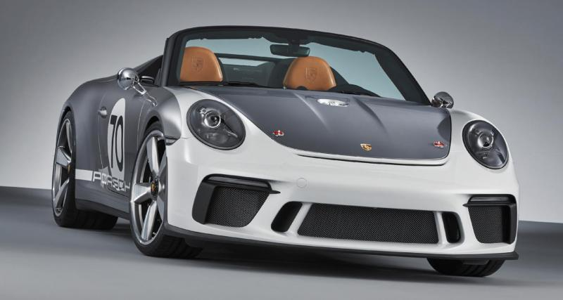 Porsche 911 Speedster Concept : ultra-collector en vue