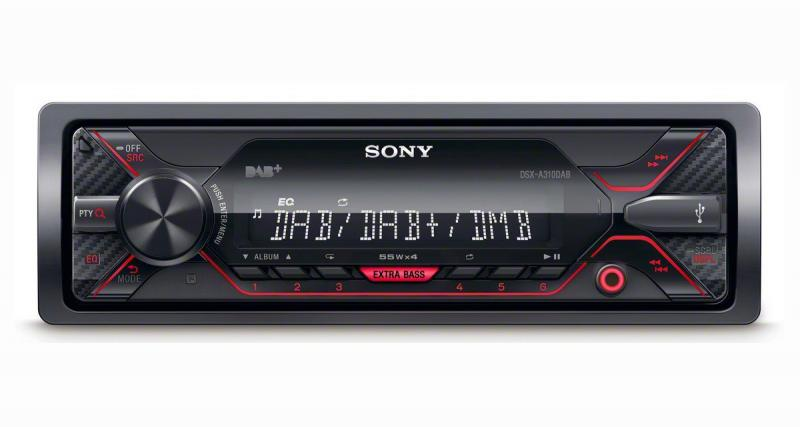 Sony dévoile un autoradio DAB dédié aux sources nomades
