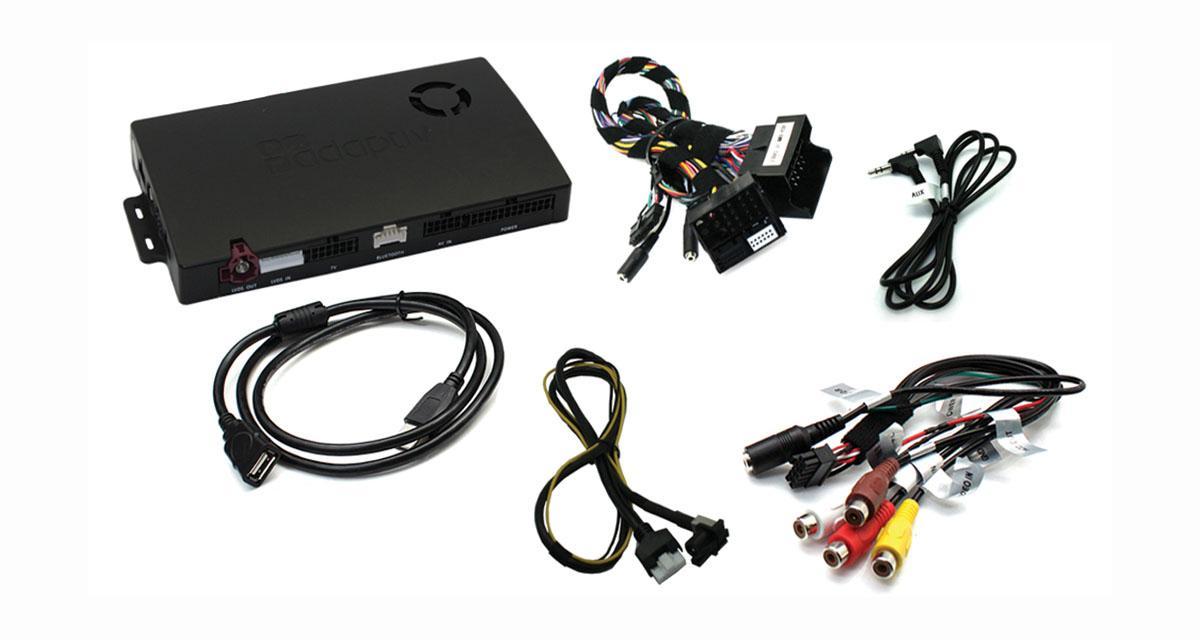Adaptiv commercialise une interface pour rajouter des fonctions multimédia sur la Mini F56