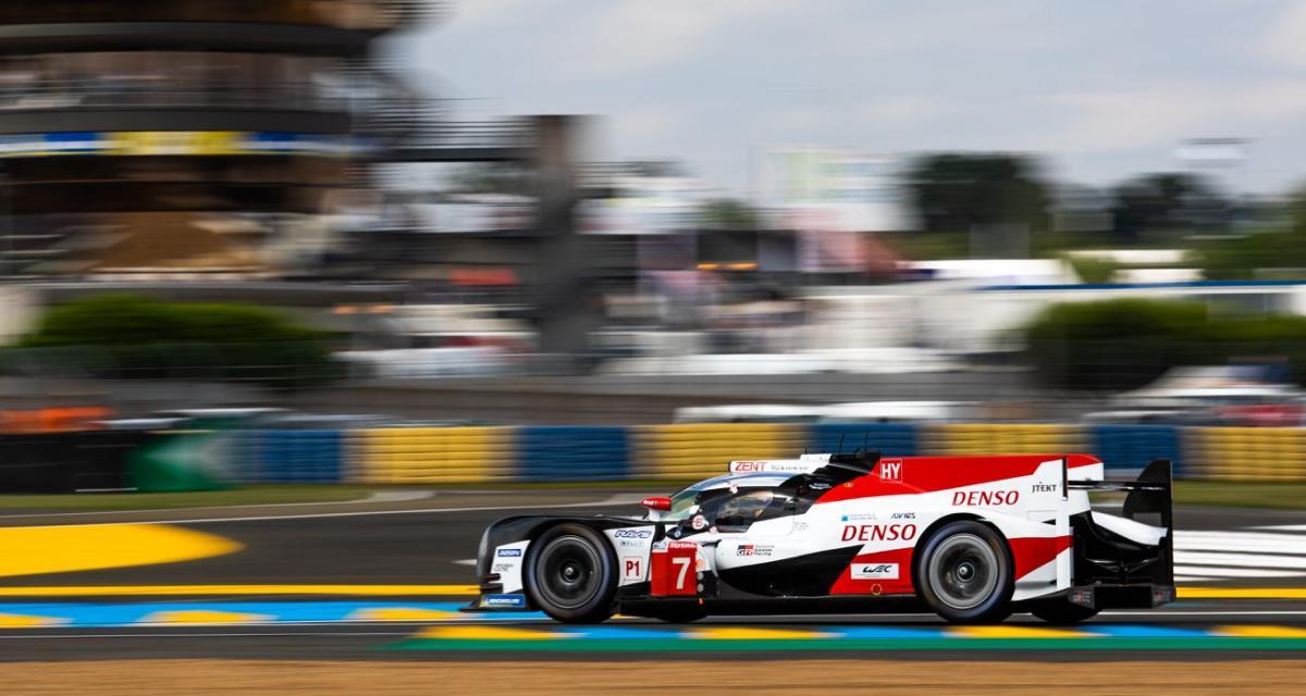 24 Heures du Mans : double pole pour les Toyota