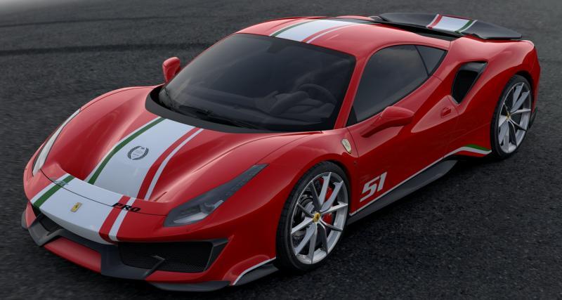 Ferrari 488 Pista Piloti Ferrari : exclusivement pour les pilotes