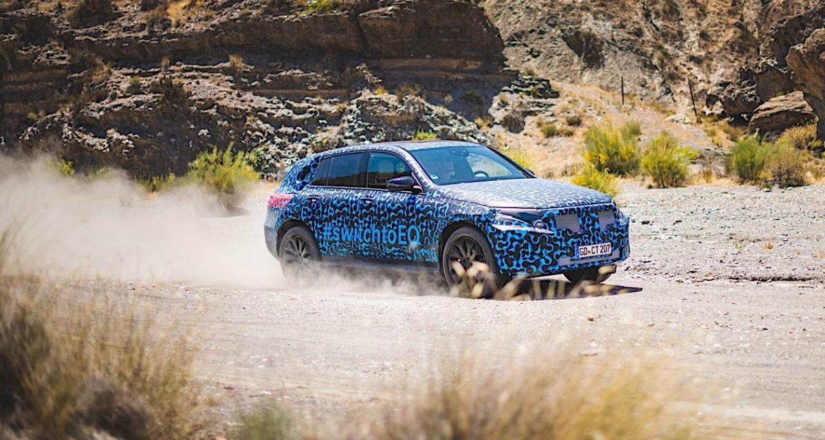 Mercedes EQC : le SUV électrique à l'épreuve de la canicule