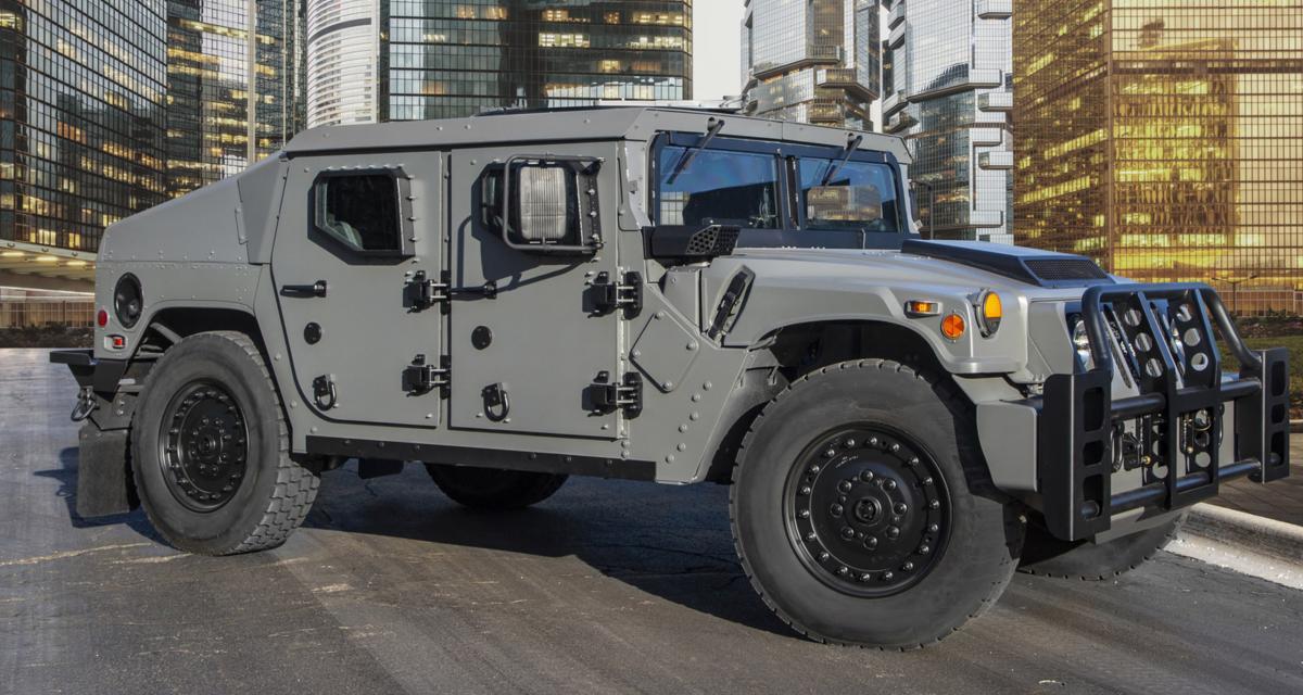 Le ''nouveau'' Hummer présenté à Paris