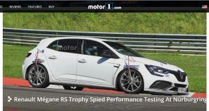Renault Mégane RS Trophy-R : la version extrême en approche