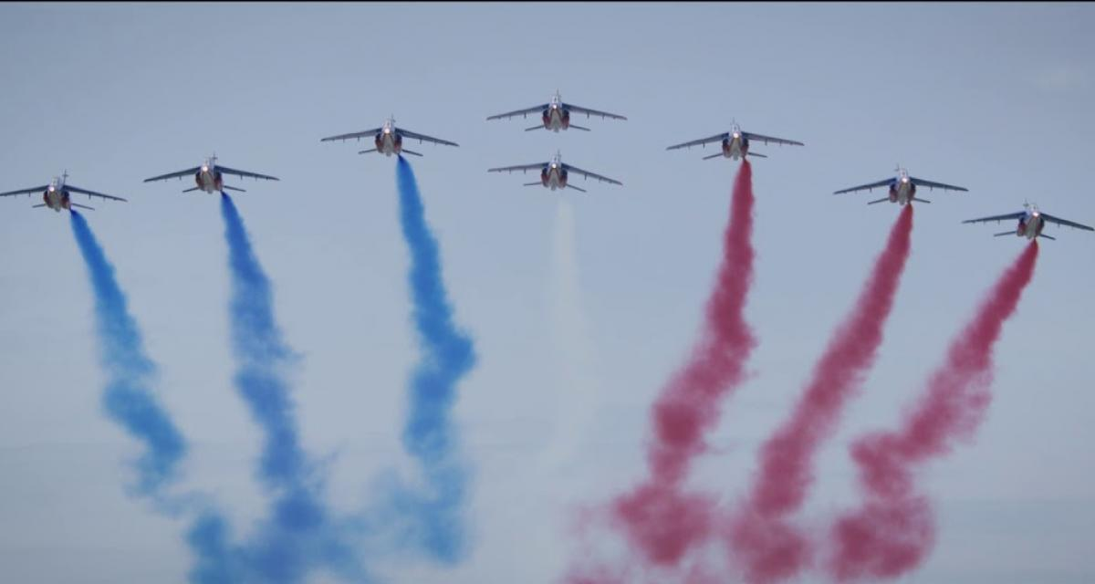 Grand Prix de France : F1 contre Patrouille de France