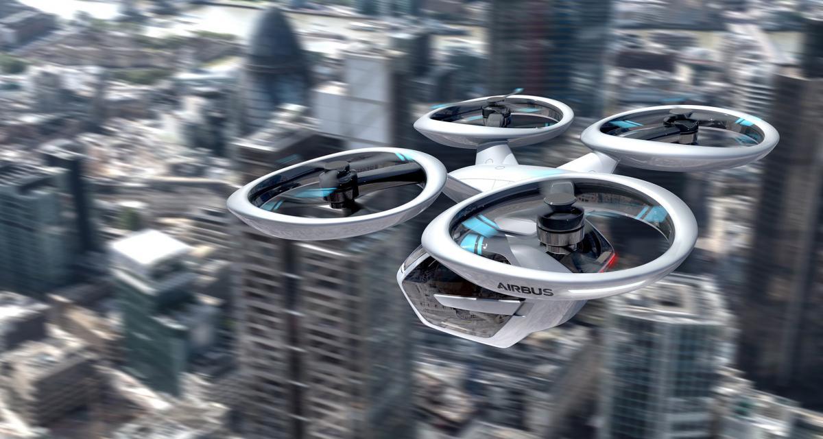 Vers un projet de taxis aériens européen avec Audi et Airbus