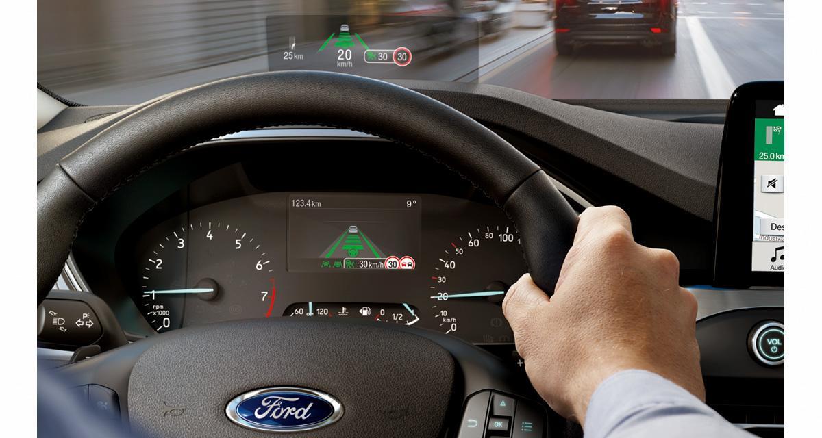 La nouvelle Ford Focus adopte un affichage tête haute