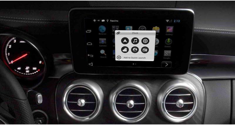 """Navinc propose un système Android """"plug and play"""" pour les autoradios NTG5 Mercedes"""