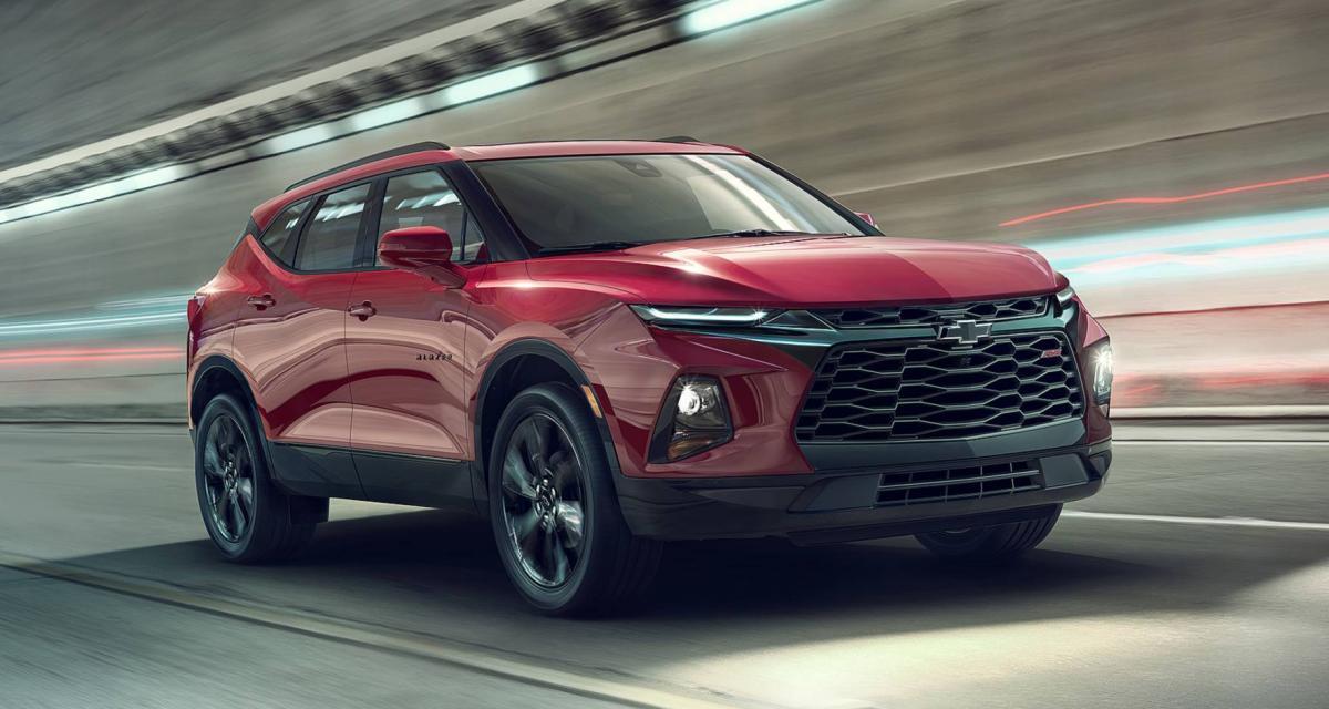 Chevrolet Blazer 2019 : photos et fiche technique - Autonews