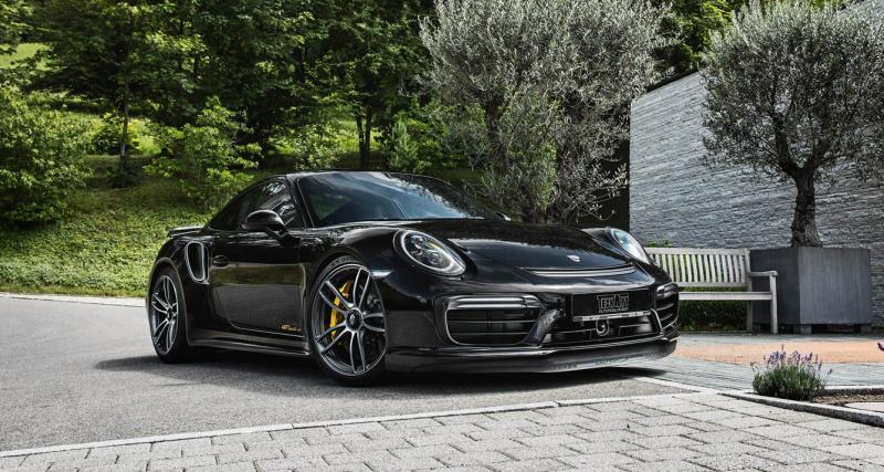 Porsche 911 TechArt GTsport : hommage non officiel mais réussi