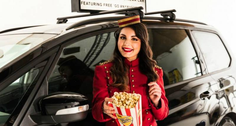 Hertz lance la voiture cinéma avec wifi gratuit