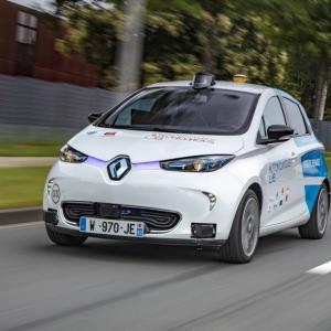 Rouen : bientôt des Renault ZOE autonomes à la demande