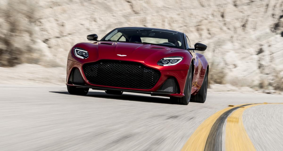 Aston Martin DBS Superleggera : la légende est de retour
