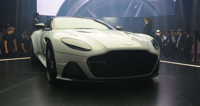 Aston Martin DBS Superleggera : la super GT anglaise enfin dévoilée