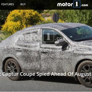 Renault Kaptur Coupé : les images du prototype