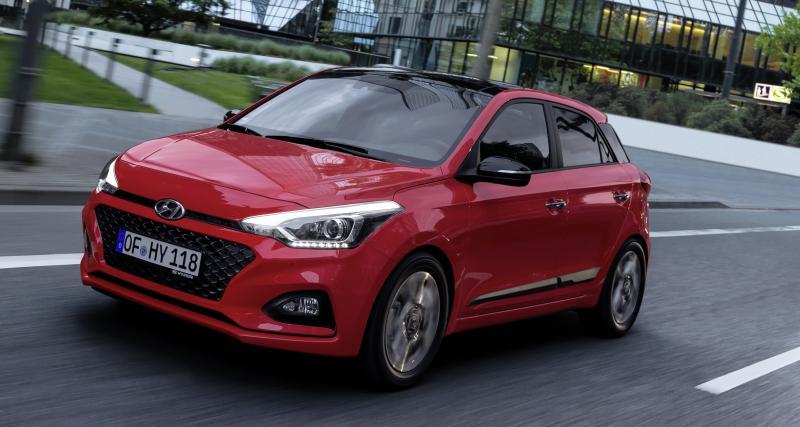 Essai Hyundai i20 restylée: solide en défense