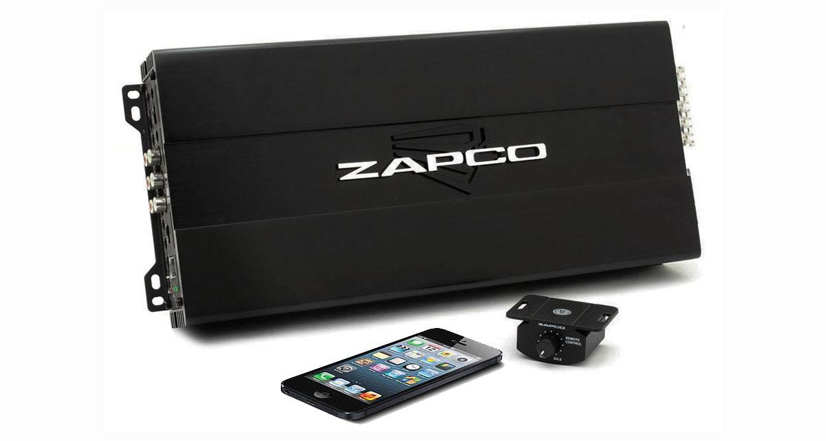 Zapco : un ampli 5 canaux avec bluetooth audio streaming