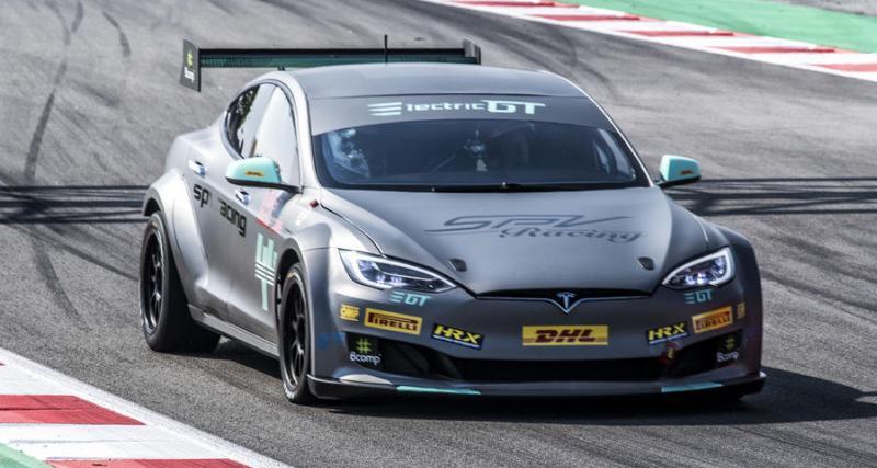 Tesla Model S P100DL : voici la voiture de course définitive