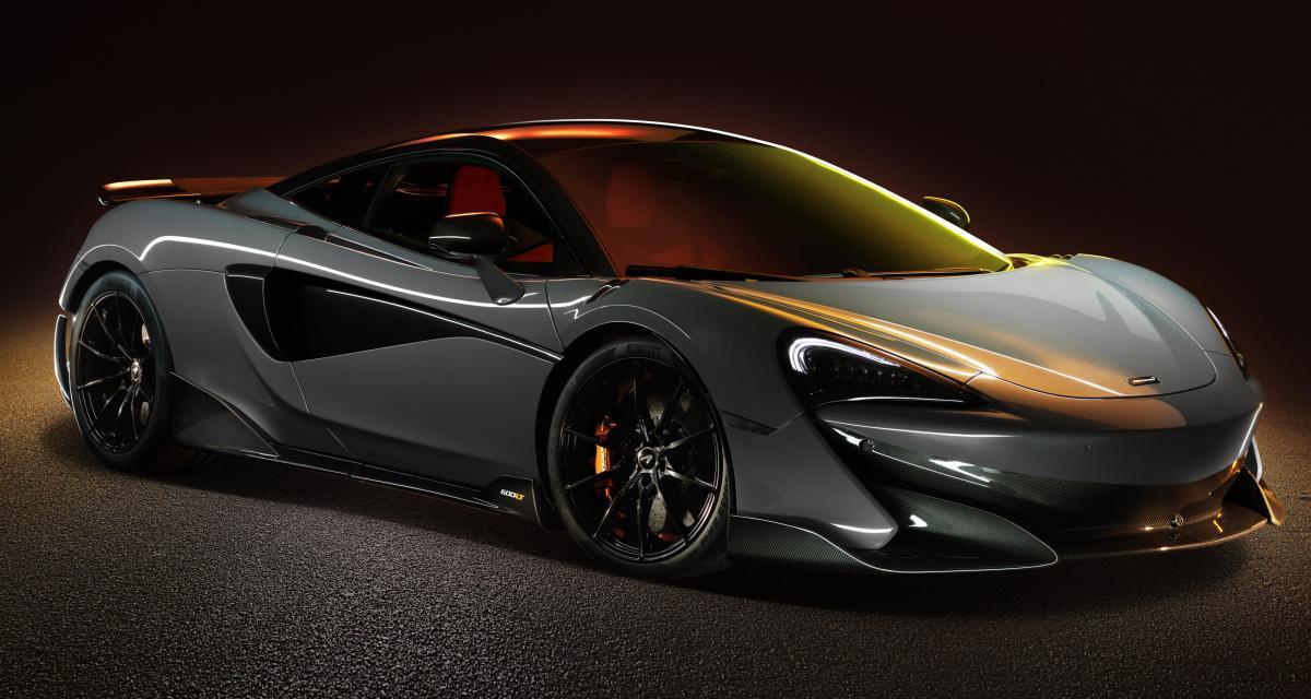 McLaren 600LT : la baby-McLaren voit rouge