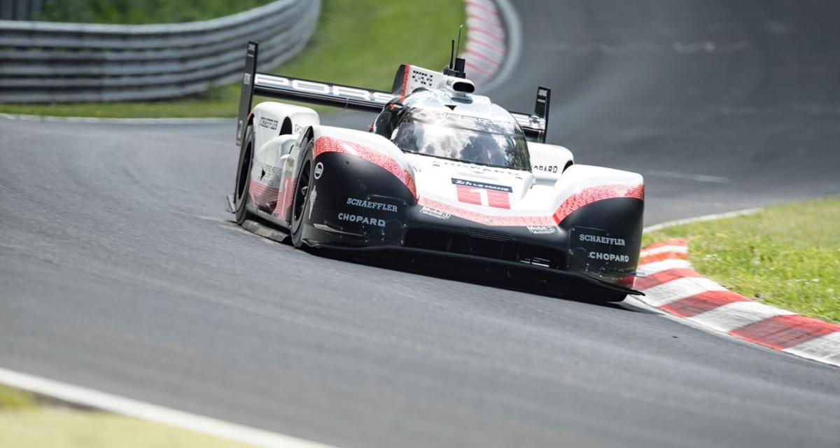 Porsche pulvérise son propre record sur le Nürburgring avec la 919 Evo
