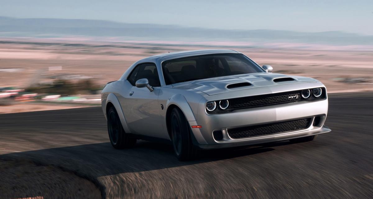 Dodge Challenger SRT Hellcat Redeye : 800 ch pour 70 000 dollars