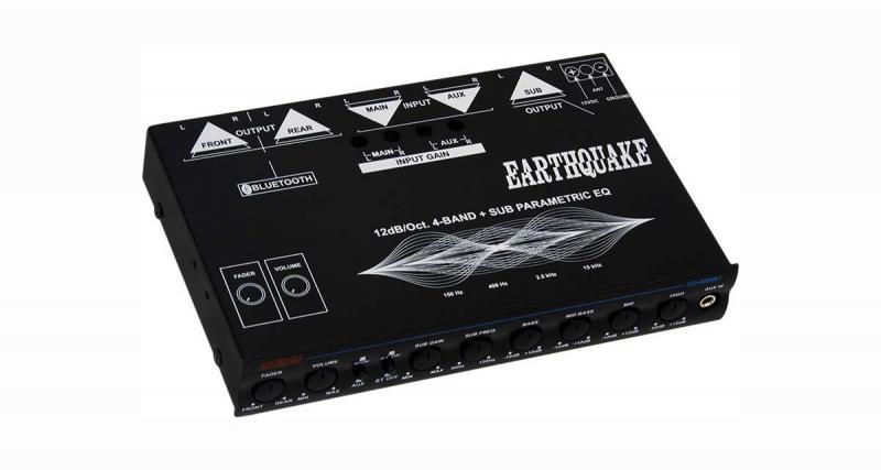 Earthquake commercialise un préampli ½ DIN Bluetooth pour réaliser une installation hi-fi sur un véhicule de collection