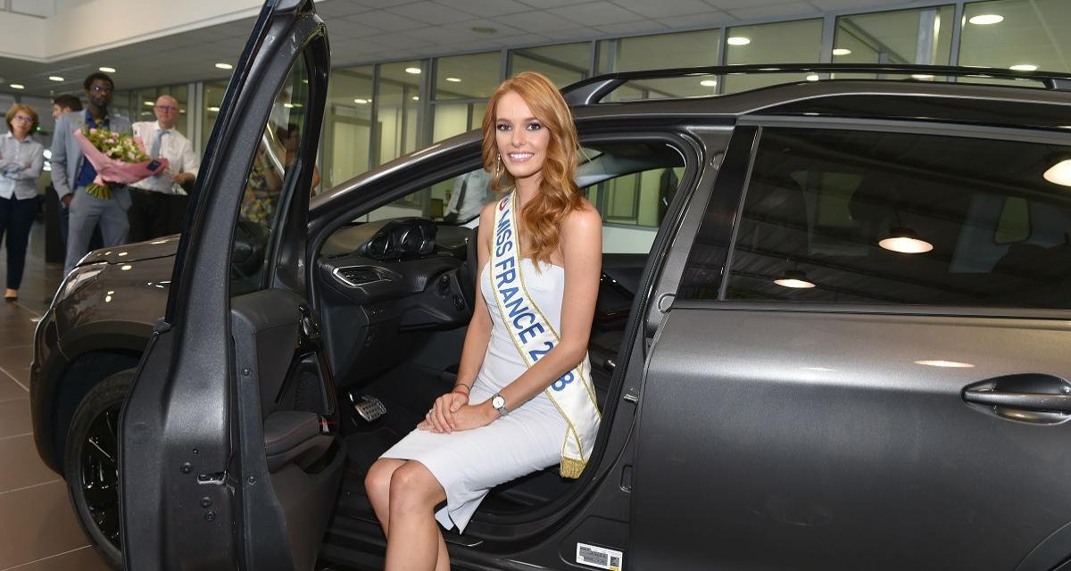 Miss France 2018 roulera en Peugeot 2008: les photos de Maëva Coucke