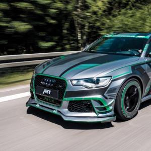 Audi RS6-E par ABT : l'hybride la plus fun du moment