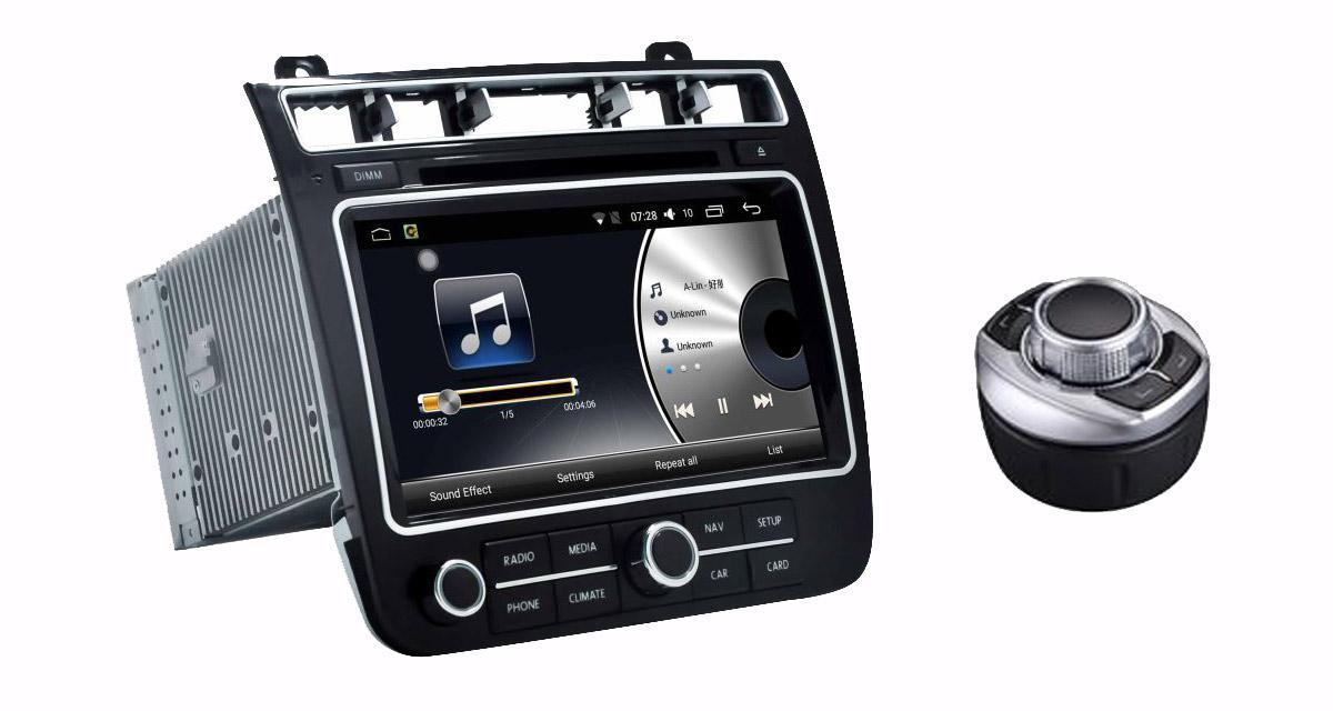 """Un autoradio Android """"plug and play"""" pour le VW Touareg 2016 chez Audiosources"""