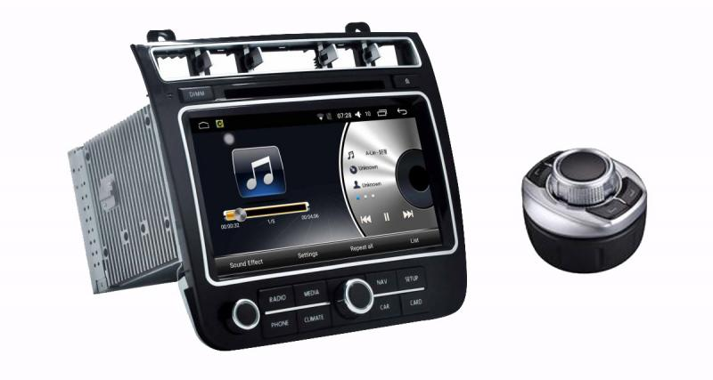 "Un autoradio Android ""plug and play"" pour le VW Touareg 2016 chez Audiosources"